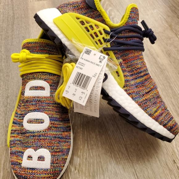 Adidas Pharrell X Nmd Human Race Body